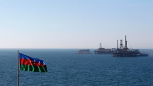 The accident happened on an Azerbaijani oil platform in the Caspian Sea