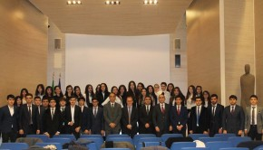 Gli studenti dell'ADA University di Baku in visita in Italia