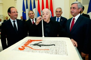 Charles Aznavour turns 90 - President Sargsyan congratulates famous French-Armenian crooner