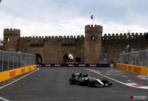 Azerbaijani city of Baku hosts its first Formula One Grand Prix