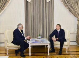 President of the Republic of Azerbaijan Ilham Aliyev has received Chairman of the Board and Chief Executive Officer at Danieli & C. Officine Meccaniche