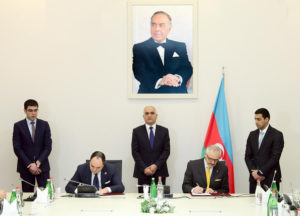 The agreement on construction of modern metallurgical complex in Sumgayit signed between Baku Steel Company (Azerbaijan) and Danieli (Italy)